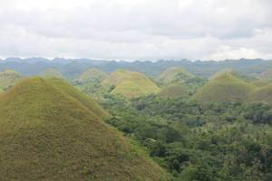 Chocolate Hills! Danae was hoping they'd be dry and brown but they weren't. Beautiful nonetheless.