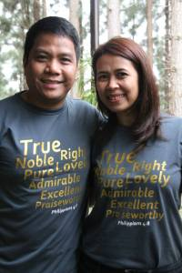 Ptr Chico and Maryanne Pena :)