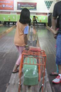balls are manually rolled back haha :)