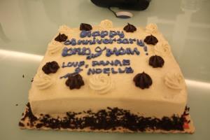 the cake! :)