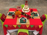 Pasko at Pamilya: Christmas Kiddie Tablescape