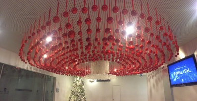 Christmas in the (Victory Alabang) center <3